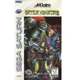 Sega Saturn Battle Monsters (CiB)