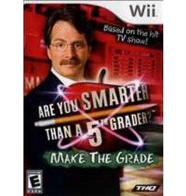 Wii Are You Smarter Than A 5th Grader? Make the Grade (CiB)