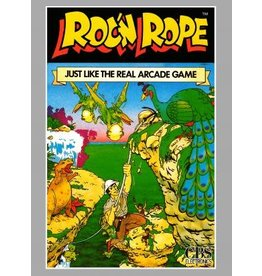 Colecovision Roc 'N Rope (Cart Only, Rough Label)