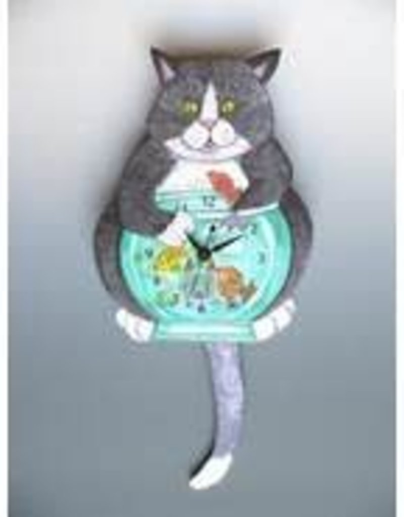 Cat-Fish Clock