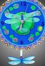 Dragonflies Clock