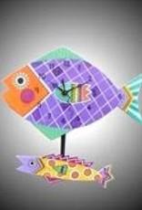 Funny Fish Clock