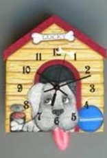 Lucky The Dog Clock
