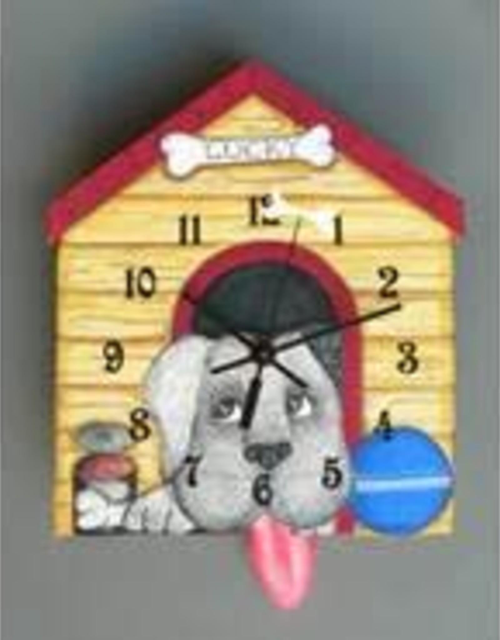 Lucky The Dog Clock