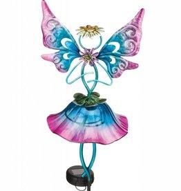 Garden Fairy - Solar Blue