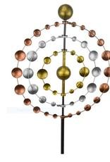 Tricolor Metal Kinetic Spinner