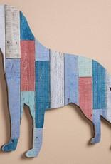 Slat Wood Wall Decor - Labrador