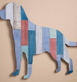 Slat Wood Wall Decor - Labrador