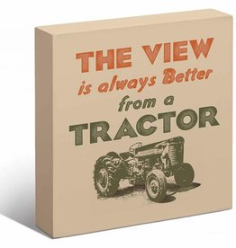 Tractor Box Sign