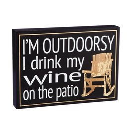 I'm Outdoorsy - Wood Plock