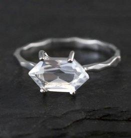 Ring - Crystal Quartz/Silver