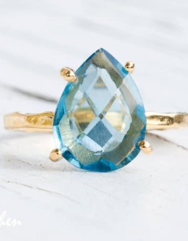 Ring - Blue Topaz/Silver