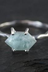Ring - Aquamarine/Silver