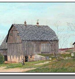 Spring Barn - 16x20 Print