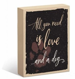 All You Need is Love & a Dog Sign