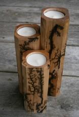 Fractal Art Fractal Candle Set - 3 Piece