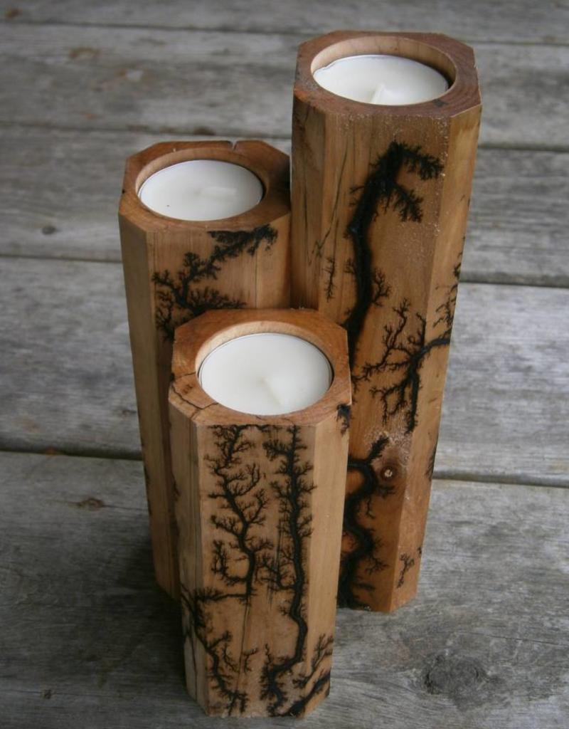Fractal Candle Set - 3 Piece