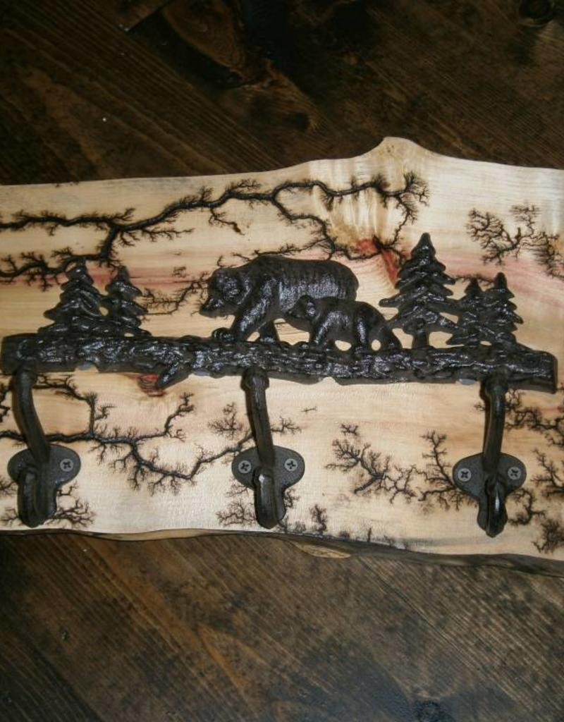 Fractal Bear Wall Hook