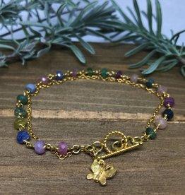 Charm Bracelet - Butterfly Rse
