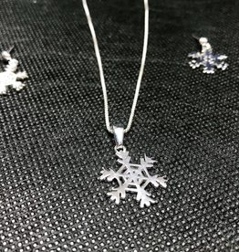 Snowflake Set - Sterling Silver