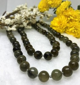 Beaded Necklace - Labradorite