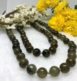 Beaded Necklace - Labradorite