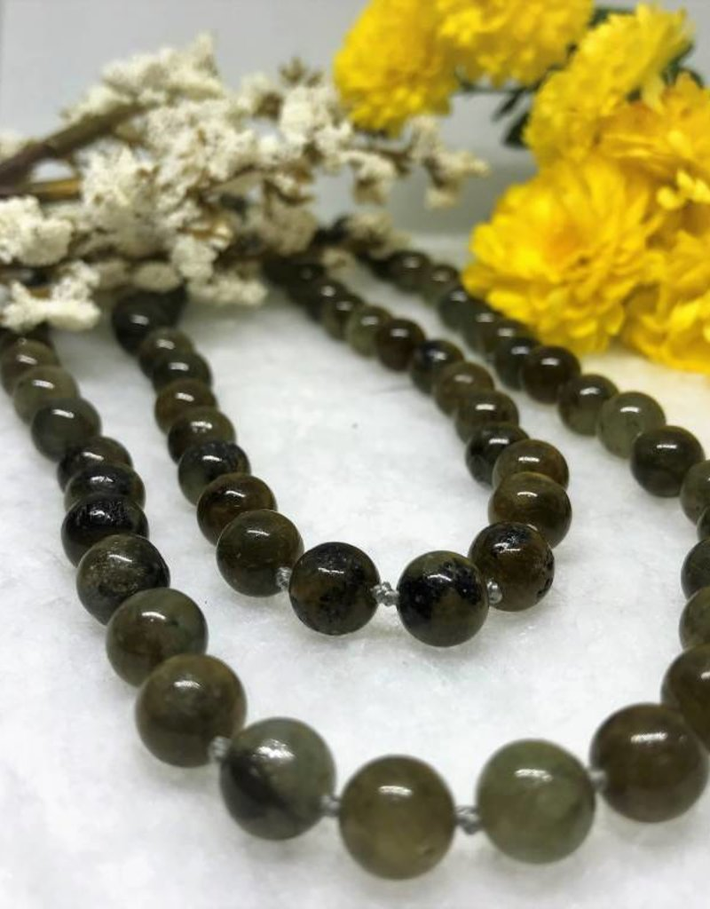 Fred Lawrence Beaded Necklace - Labradorite