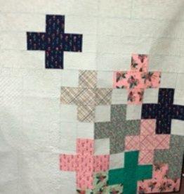 Modern Plus Floral Quilt