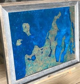 Leelanau Copper Art - No Patina 12x18