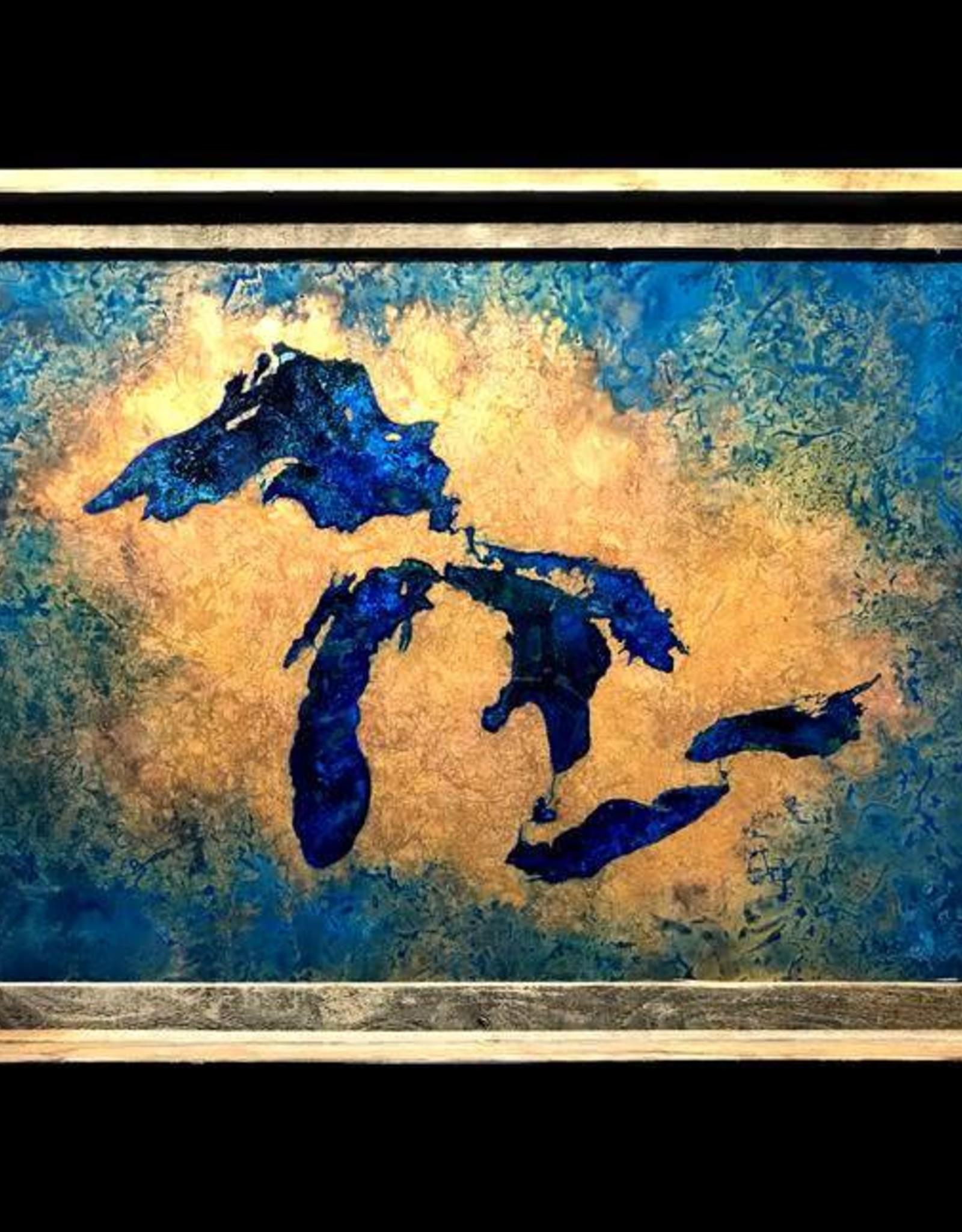 Great Lakes Copper Art 24 x 20