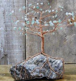 Copper Tree - Large Aventurine