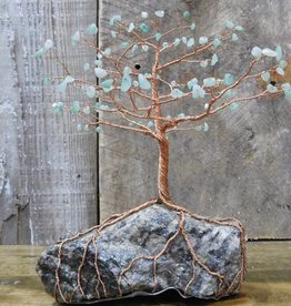 Larry Walma Copper Trees Copper Tree - Large Aventurine