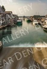"Nick Irwin Images Fishtown Leland - 5"" x 7"" Matted Print"