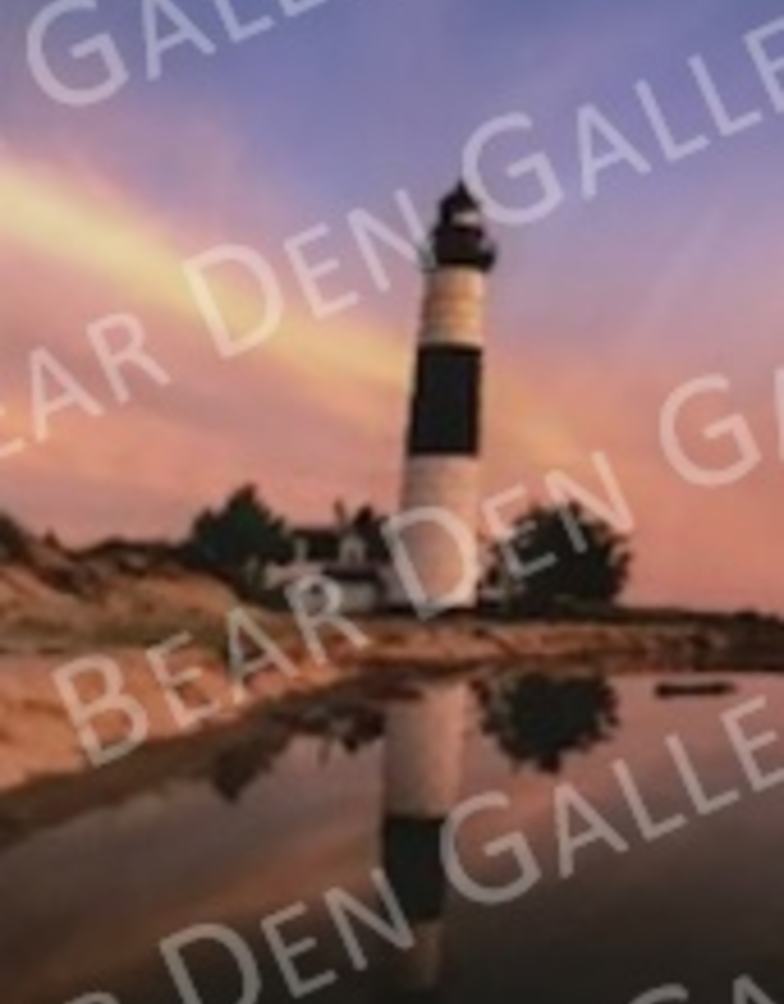 """Nick Irwin Images Big Sable Point Lighthouse - 5"""" x 7"""" Matted Print"""