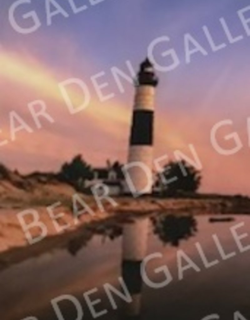 "Nick Irwin Images Big Sable Point Lighthouse - 5"" x 7"" Matted Print"