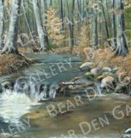 Ron Wetzel Art Cedar Creek - Print 11x14