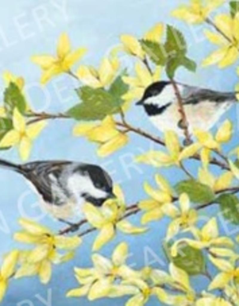 Spring Chickadees - 8x10 Print