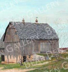 Ron Wetzel Art Spring Barn - 16x20 Print