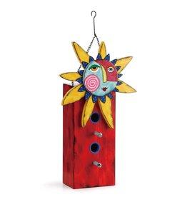 Tracy Pesche Celestial Sun Birdhouse