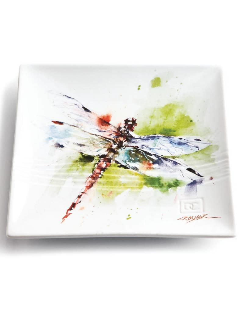 Dean Crouser Dragonfly Snack Plate