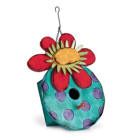 Tracy Pesche Flower Birdhouse