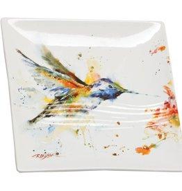 Dean Crouser Dean Crouser Snack Plate - Hummingbird