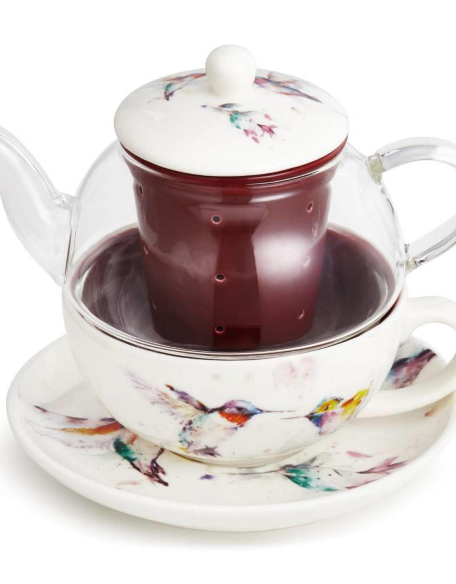 Dean Crouser Dean Crouser Tea Pot Set - Hummingbird