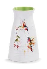 Dean Crouser Dean Crouser Vase - Summer Hummingbirds