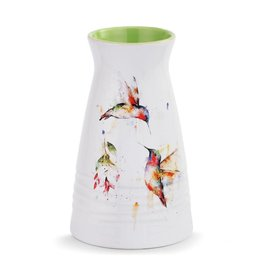 Dean Crouser Summer Hummingbirds Vase