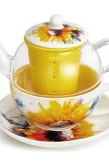 Dean Crouser Sunflower Tea Pot Set