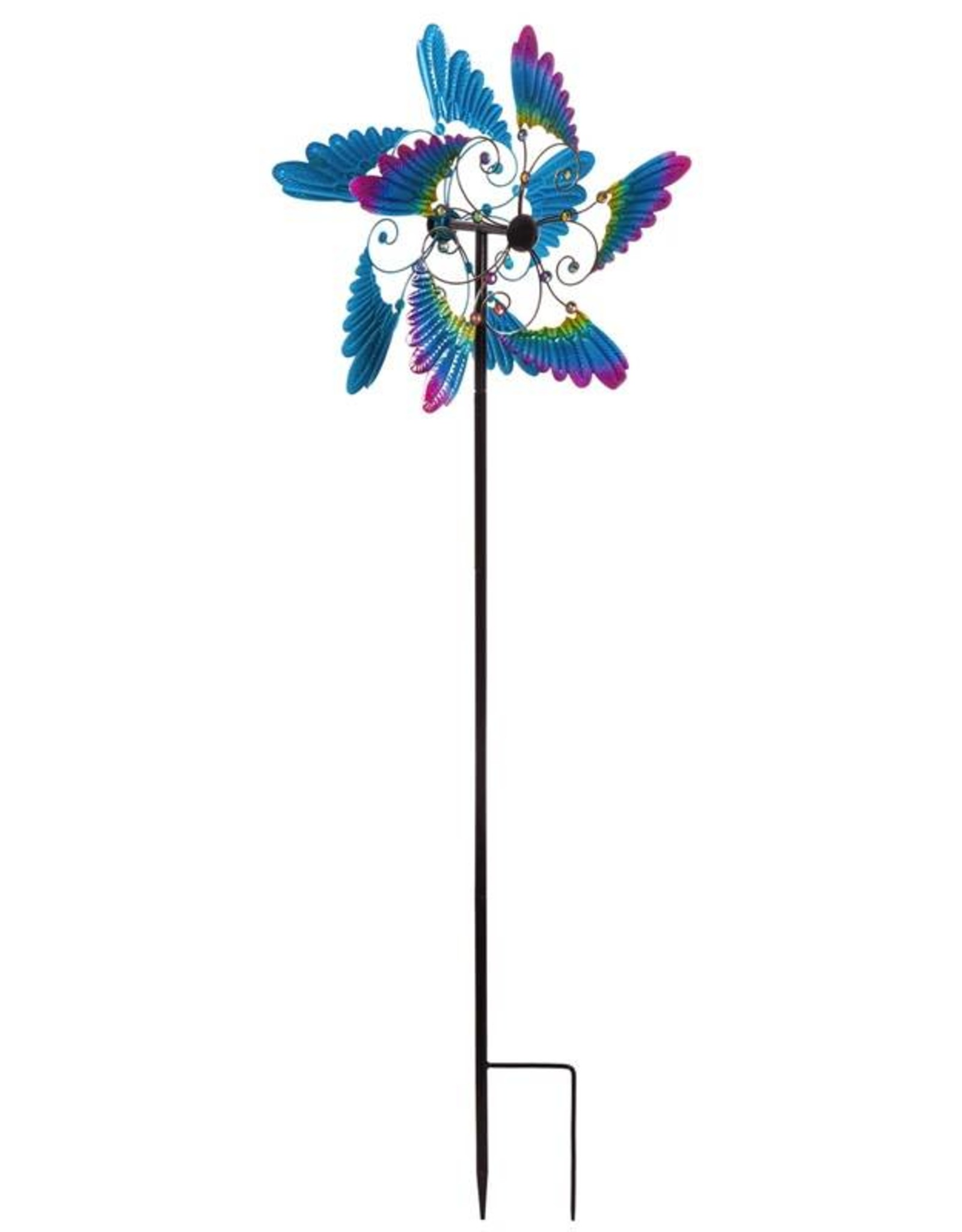 Wind Spinner Stake - Bold Wings