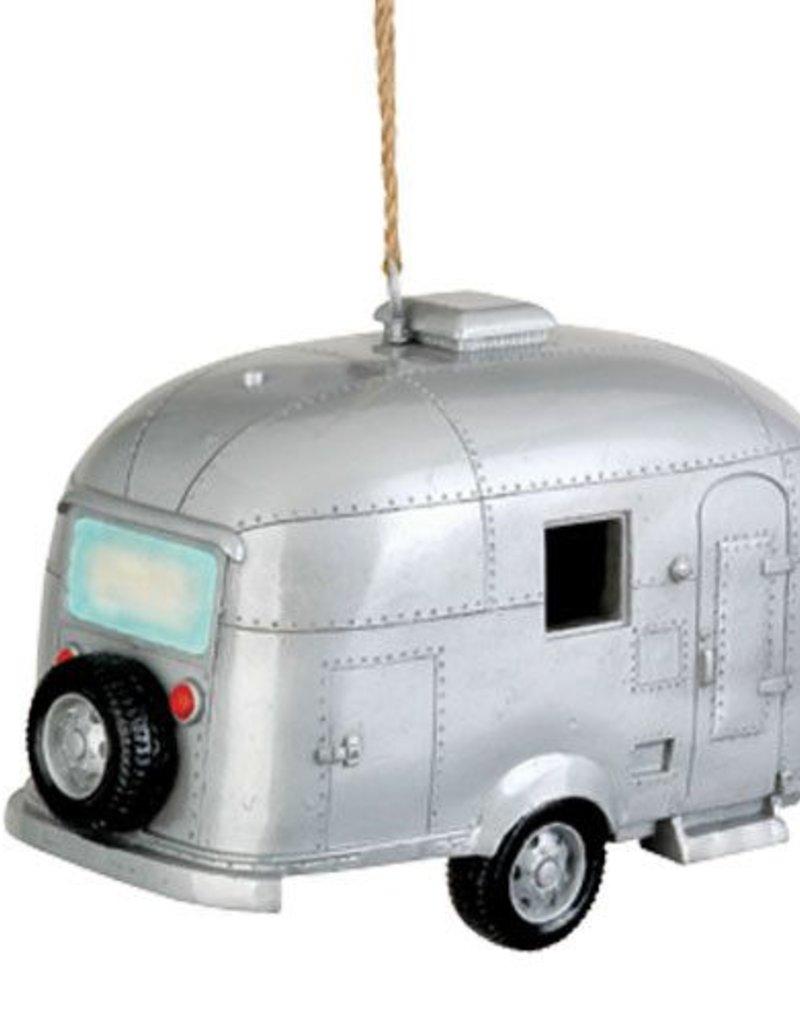 Silver Camper Birdhouse