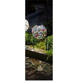 Hanging Solar Globe - Colorful Jewels