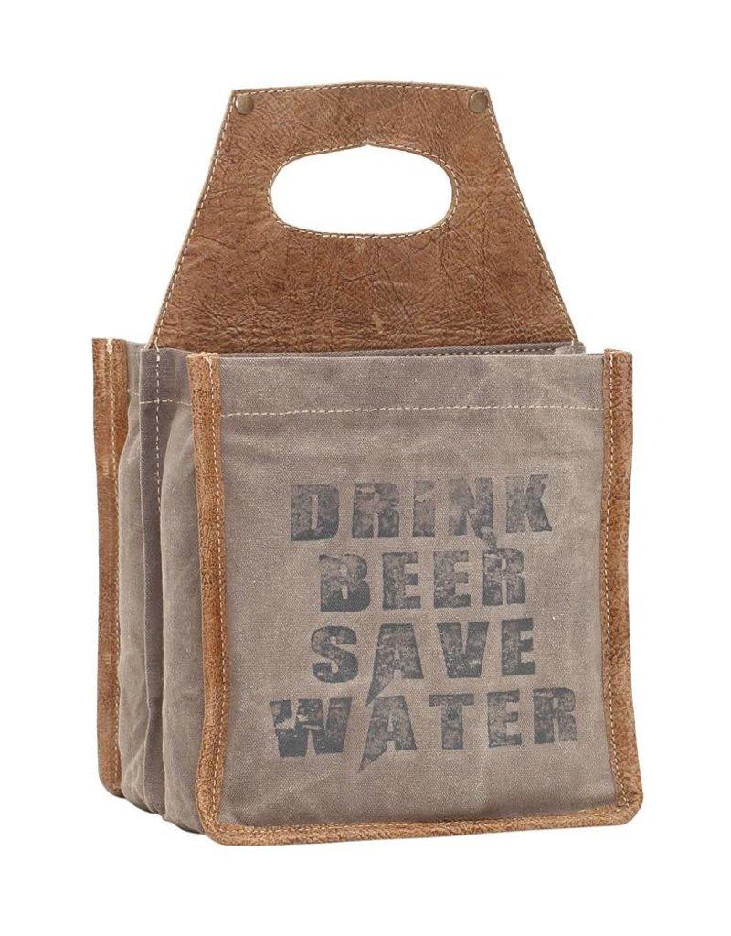 Drink Beer Save Water Tote